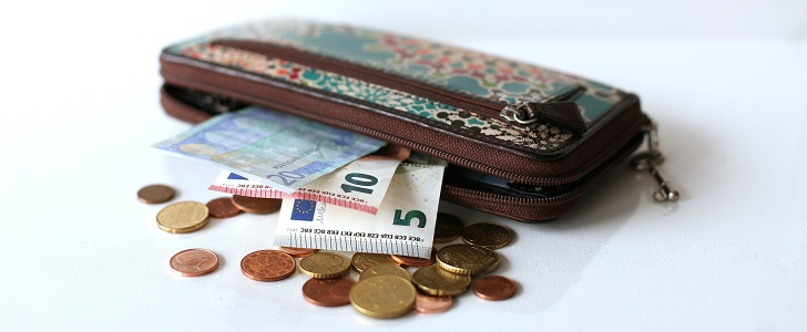 ボーナスが出た財布