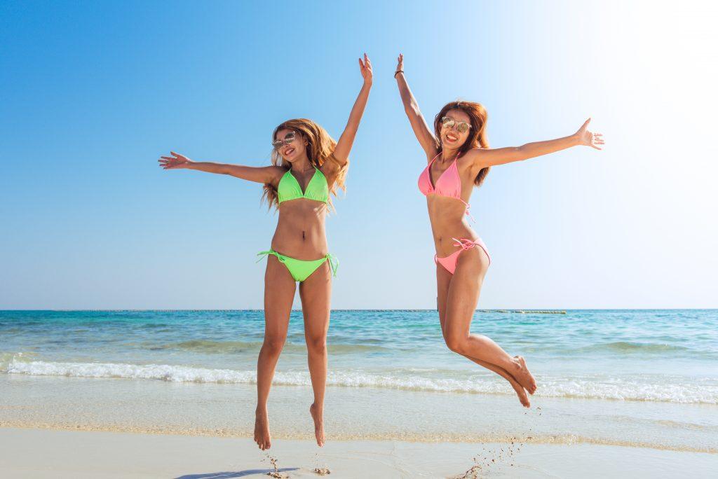 Happy bikini